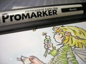 how to use promarker blender
